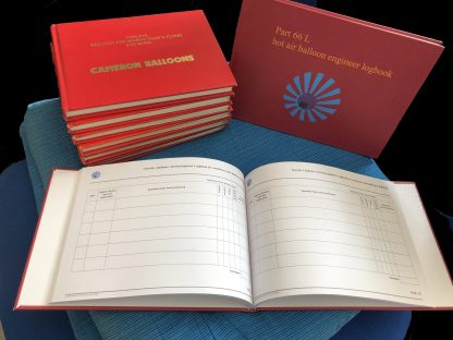 Picture of Logbooks on a cushion